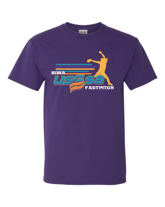 FASTPITCH SHIRT - PURPLE