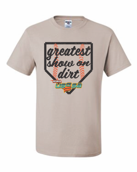 GREATEST SHOW SHIRT - TAN