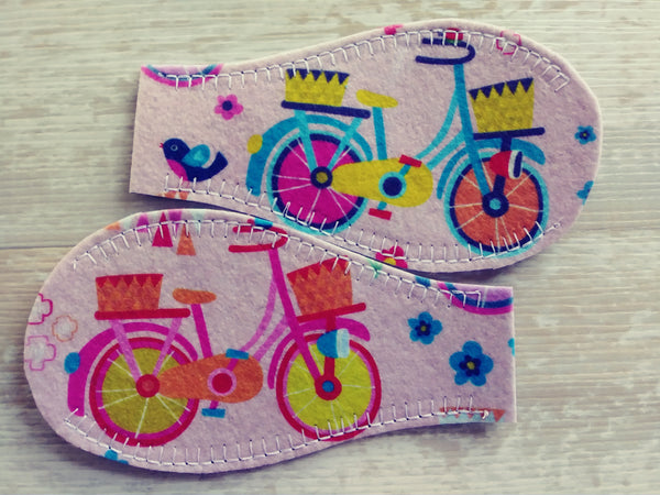 Printed Eye Patch - Vintage Bicycle
