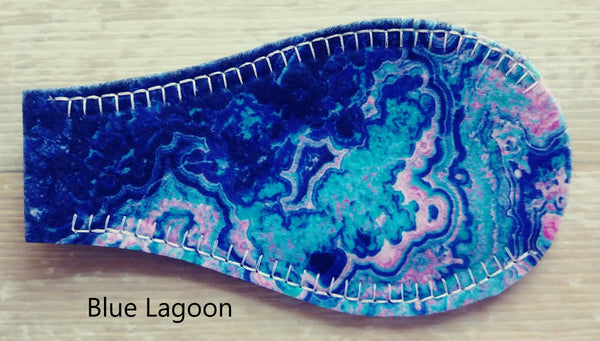 Printed Eye Patch - Blue Lagoon