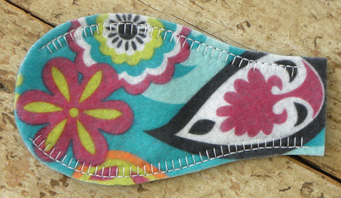Printed Eye Patch - Bright Paisley