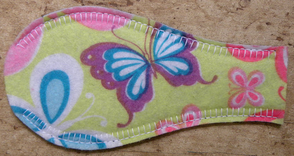 Printed Eye Patch - Butterflies