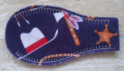Printed Eye Patch - Cowboys & Indians