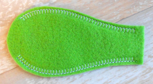 Solid Eye Patch - Lime