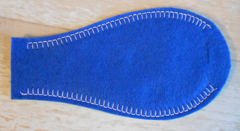 Solid Eye Patch - Blue