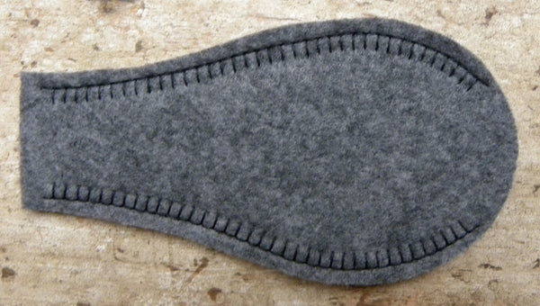 Solid Eye Patch - Charcoal