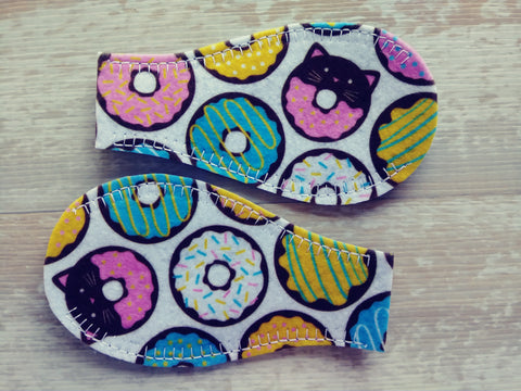 Printed Eye Patch - Donuts