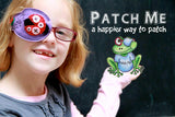 Printed Eye Patch - Action Words