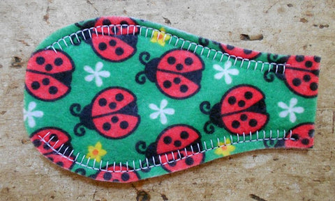 Printed Eye Patch - Lady Bugs