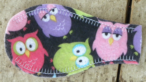 Printed Eye Patch - Owls