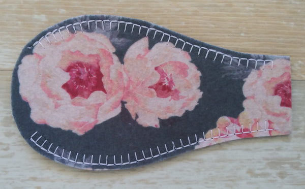 Printed Eye Patch - Peony