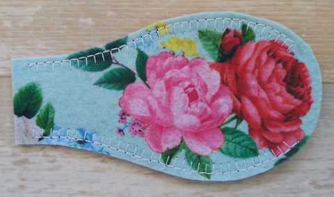 Printed Eye Patch - Roses