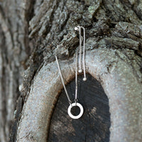 Sterling Silver Adjustable Circle Hinge Charm Capable Bolo Bracelet