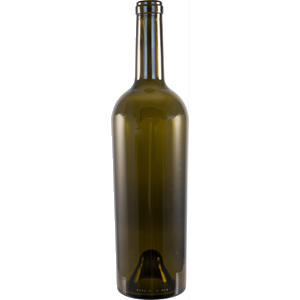 Bordeaux Bottles - 750ml - Antique Green - Tapered Shoulder