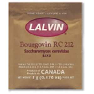 Lalvin Bourgovin RC212 Yeast - 10 pack