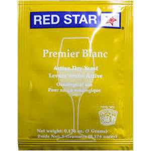 Red Star Premier Blanc Yeast (formerly Pasteur Champagne)