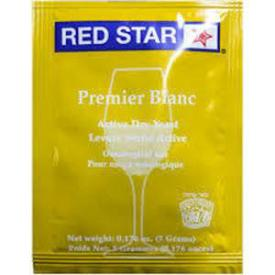 Red Star Premier Blanc Yeast (formerly Pasteur Champagne) - 10 pack