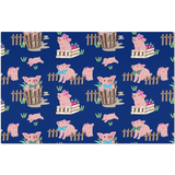Fluffy Layers Precious Piglets Placemats-Fluffy Layers