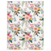 Fluffy Layers Springtime Blooms Super Plush Minky Blankets-Fluffy Layers