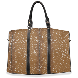Fluffy Layers Deer Print Travel Bags - Fluffy Layers