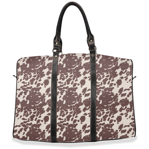 Fluffy Layers Cow Hide Travel Bags - Fluffy Layers