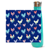 Fluffy Layers Rooster Garden Double Wall Vacuum Insulated Stainless Steel Water Bottle-Fluffy Layers