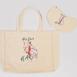 Fluffy Layers Hay Gurl HAY! Tote and Cosmetic Bag Gift Set - Fluffy Layers