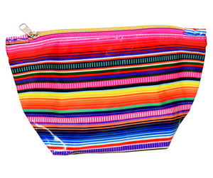 Fluffy Layers PVC Cosmetic Bag (serape)-Fluffy Layers