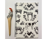 Fluffy Layers Stationary Set ( Classic Farm w/ Chicken Pen)-Fluffy Layers