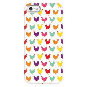 Fluffy Layers Rainbow Chickens Phone Case - Fluffy Layers