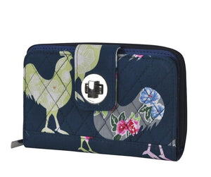 Fluffy Layers Rooster Garden Wallet - Fluffy Layers