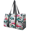 Fluffy Layers Trucks & Chickens Canvas Tote Bag, Large-Fluffy Layers