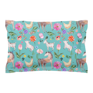 Fluffy Layers Springtime Dreams Pillow Sham-Fluffy Layers