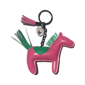 Fluffy Layers Farm Frenzy Keychains- HORSE-Fluffy Layers