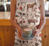 Fluffy Layers Colorful Farm Kitchen Apron ( available in adult & youth sizes) - Fluffy Layers
