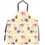 Fluffy Layers Gardening Hens & Pigs Kitchen Apron ( available in adult & youth sizes) - Fluffy Layers