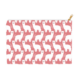 Fluffy Layers Llamas Accessory Pouch / Cosmetic Bag-Fluffy Layers