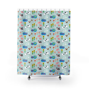 Fluffy Layers Down on the Farm Shower Curtain-Home Decor-Fluffy Layers