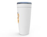 "Fluffy Layers ""That Chick"" Double Wall Insulated Stainless Steel Travel Mug, Tumbler, Coffee Mug-Fluffy Layers"