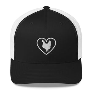 "Fluffy Layers ""Chicken Love"" Embroidered Trucker Cap-Fluffy Layers"