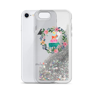 Fluffy Layers Colorful Farm Liquid Glitter Phone Case - Fluffy Layers