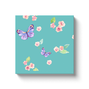 Fluffy Layers Ponies & Butterflies Canvas Artwork-Fluffy Layers