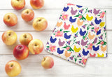 Fluffy Layers Tropical Chickens Dish Towel-Fluffy Layers