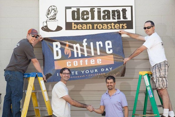COLORADO ROASTERY & HIGH-END BAR MERGE UNDER THE BONFIRE COFFEE NAME