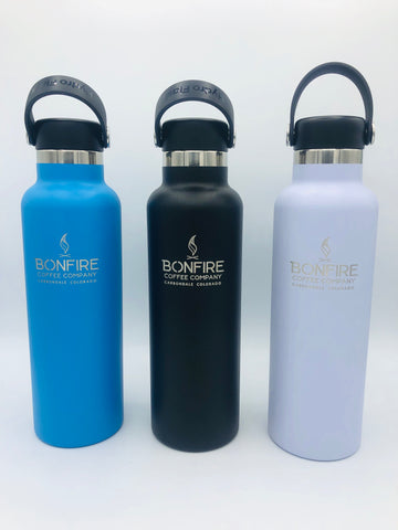 Bonfire Coffee Branded 21 oz Hydro Flask Bottle