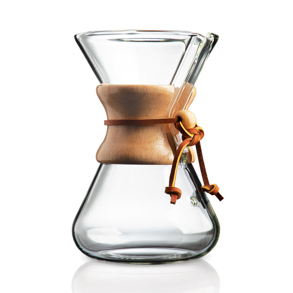 Chemex 5 Cup Handblown Coffee Brewer - Buy at Bonfire Coffee, Carbondale, CO