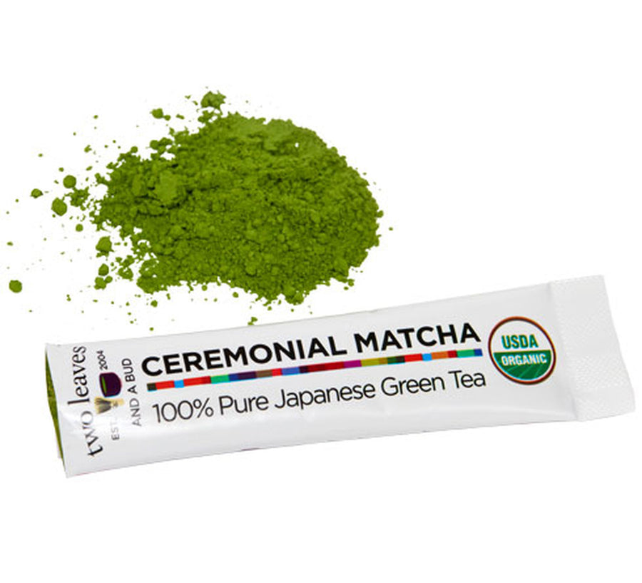 Ceremonial Matcha Single Serve Sticks