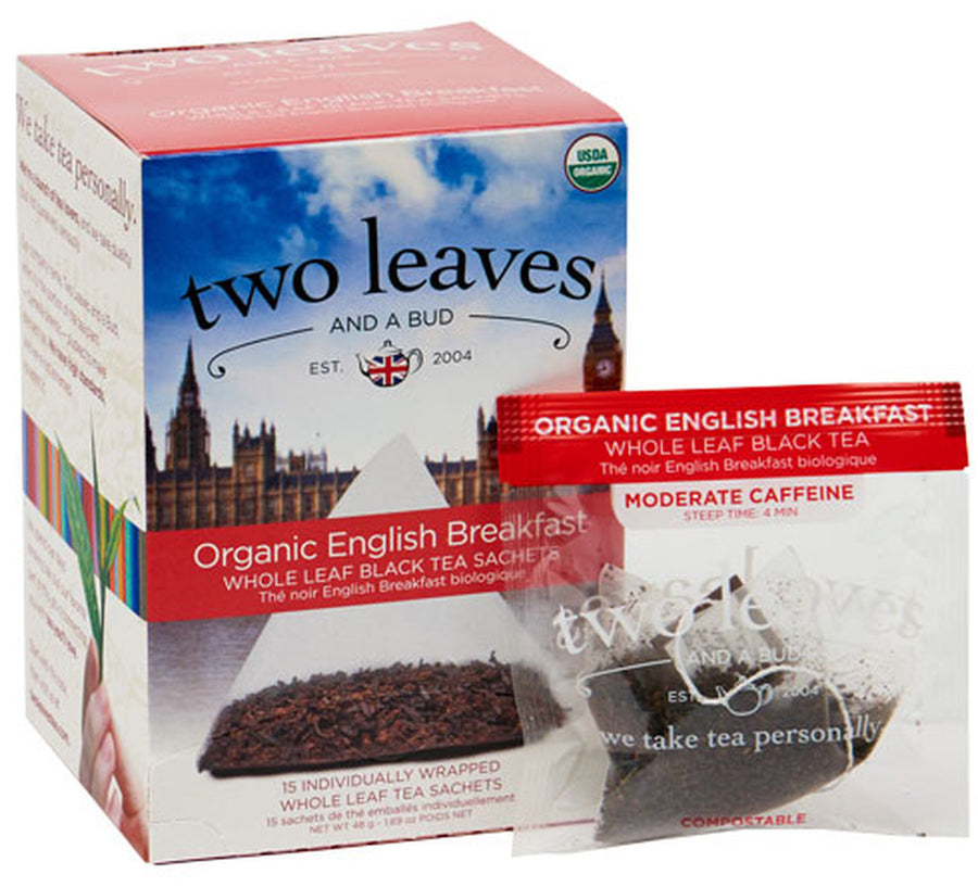 Organic English Breakfast - Box of 15 Sachets