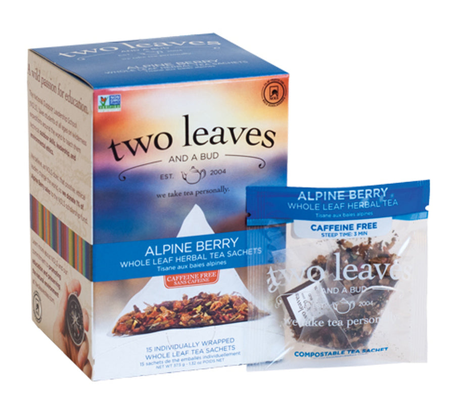 Alpine Berry Herbal Tea - Box of 15 Sachets