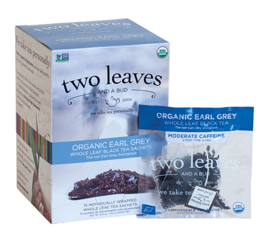 Organic Earl Gray - Box of 15 Sachets